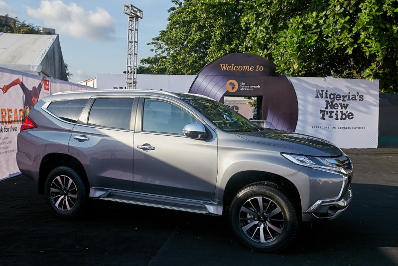 Pajero Sport Showcased on the red carpet