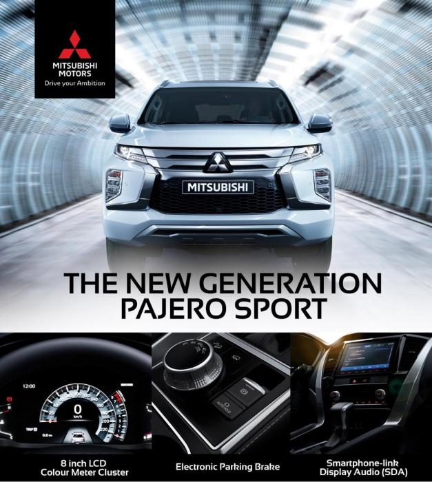 DISCOVER THE NEW PAJERO SPORT